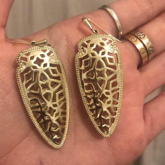 Kendra Scott Jewelry - Kendra Scott Gold Earrings
